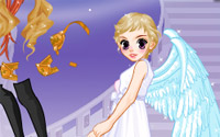 angel princess dressup