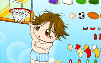 basketball dressup