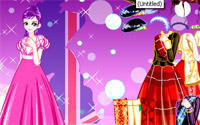 british gown dressup