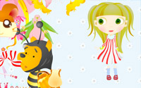 cartoon star dressup