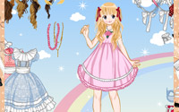 cute gown dressup