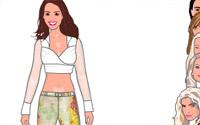 designer celebrity dressup