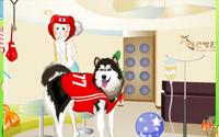 dogs at vet dressup