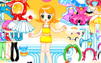 doll dancer dressup