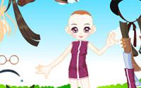 doll garden dressup