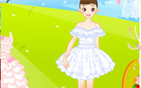 dreamlike wedding dressup