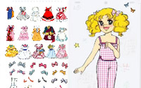 dressup candy candy