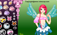 forest angel dressup