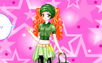 ginger star dressup