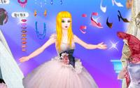 gown catwalk dressup