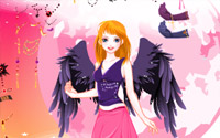 leane angel dressup