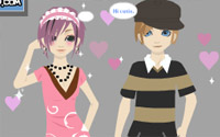 movie couple dressup