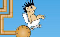 Rocket Toilet