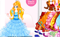 princess gown dress up