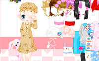 sleepy doll dressup