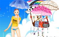 spring rain dressup