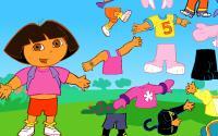 Dora Costume Fun