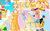summer shopping dressup
