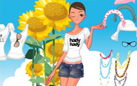 Sunflower Dressup