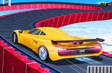 Impossible Track Car Stunts Game