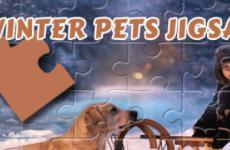 Winter Pets Jigsaw