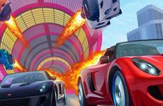Mega Ramp Stunt Race