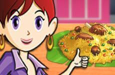 Saras Cooking Class Mutton Biryani